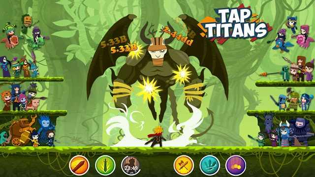 Download Tap Titans 2 Mod APK cho Android