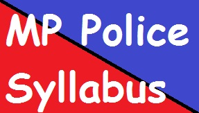 MP Police Syllabus
