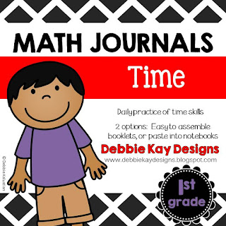 https://www.teacherspayteachers.com/Product/Math-Journals-Time-2415000