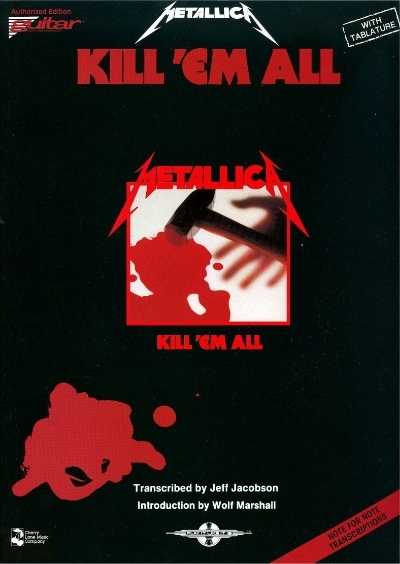 Coleccion De Metallica Guitar Songbooks Urupower