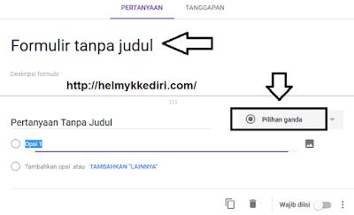 Cara membuat formulir online dengan google1