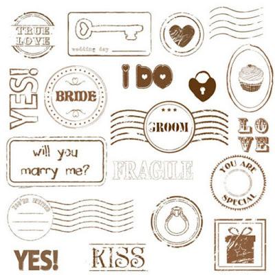 casamento guim, cartinhas para convidados, lembrancinhas, selos