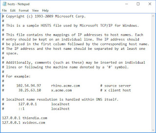 File Host là gì? Cách chỉnh sửa và sử dụng trong Windows Ubuntu Mac OS