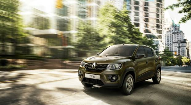 The mini-SUV Renault Kwid