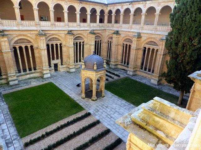 claustro del Convento de San Esteban, Salamanca