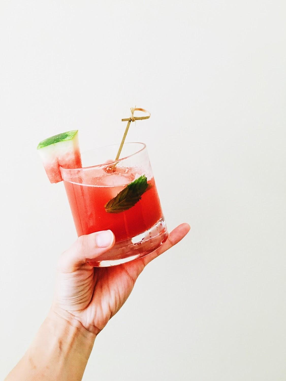watermelon and mint agua fresca