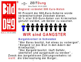 bargeldverbot in deutschland 2018
