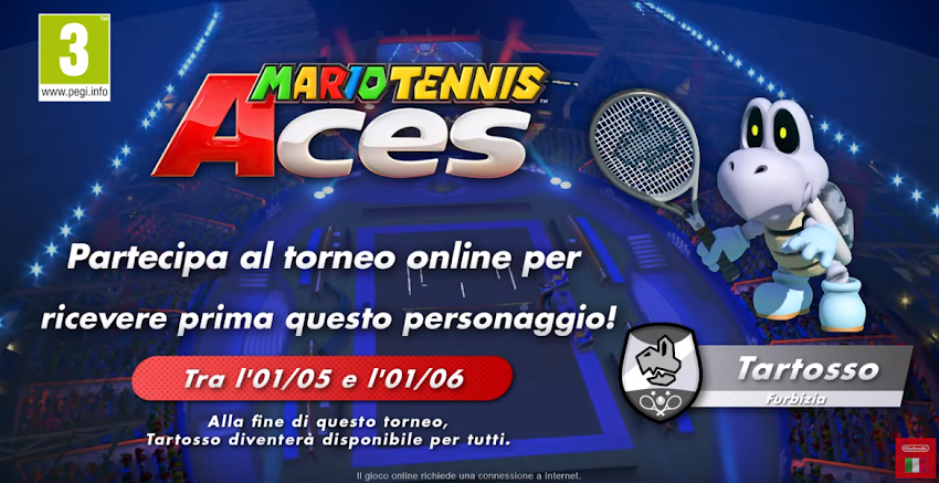 Mario Tennis Aces - Tartosso (Nintendo Switch)