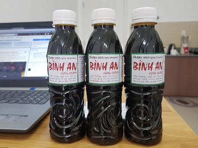 Bán Dầu Rượu Xoa Bóp Gia Truyền Bình An Chai Lớn 350ml