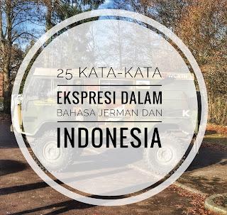 25 kata Ekspresi Jerman Vs Indonesia