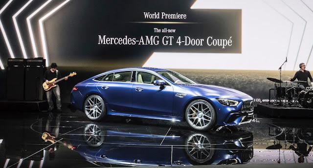メルセデスAMG GT 4ドアクーペ ジュネーブモーターショー