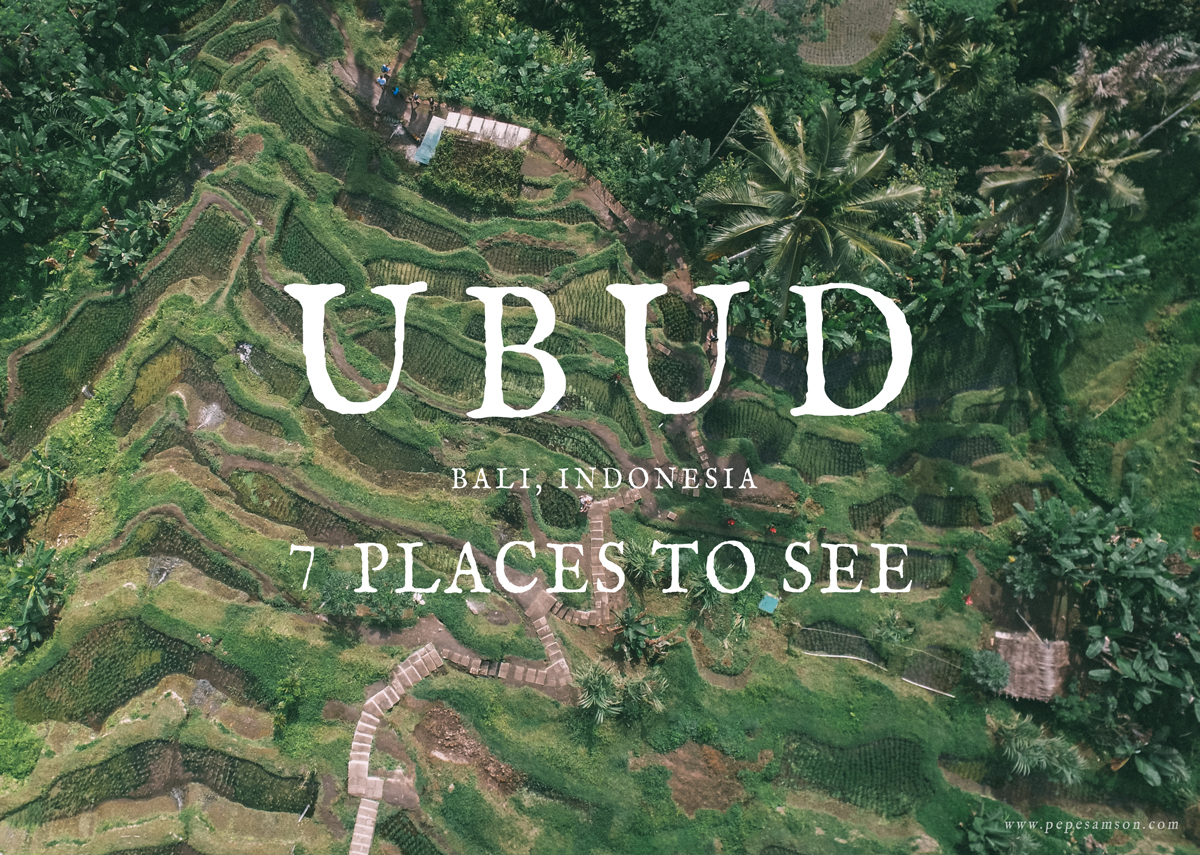 Travel Guide: 7 Places to See in Ubud, Bali, Indonesia