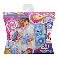 MLP Cutie Mark Magic Friendship Flutters Trixie Lulamoon Brushable