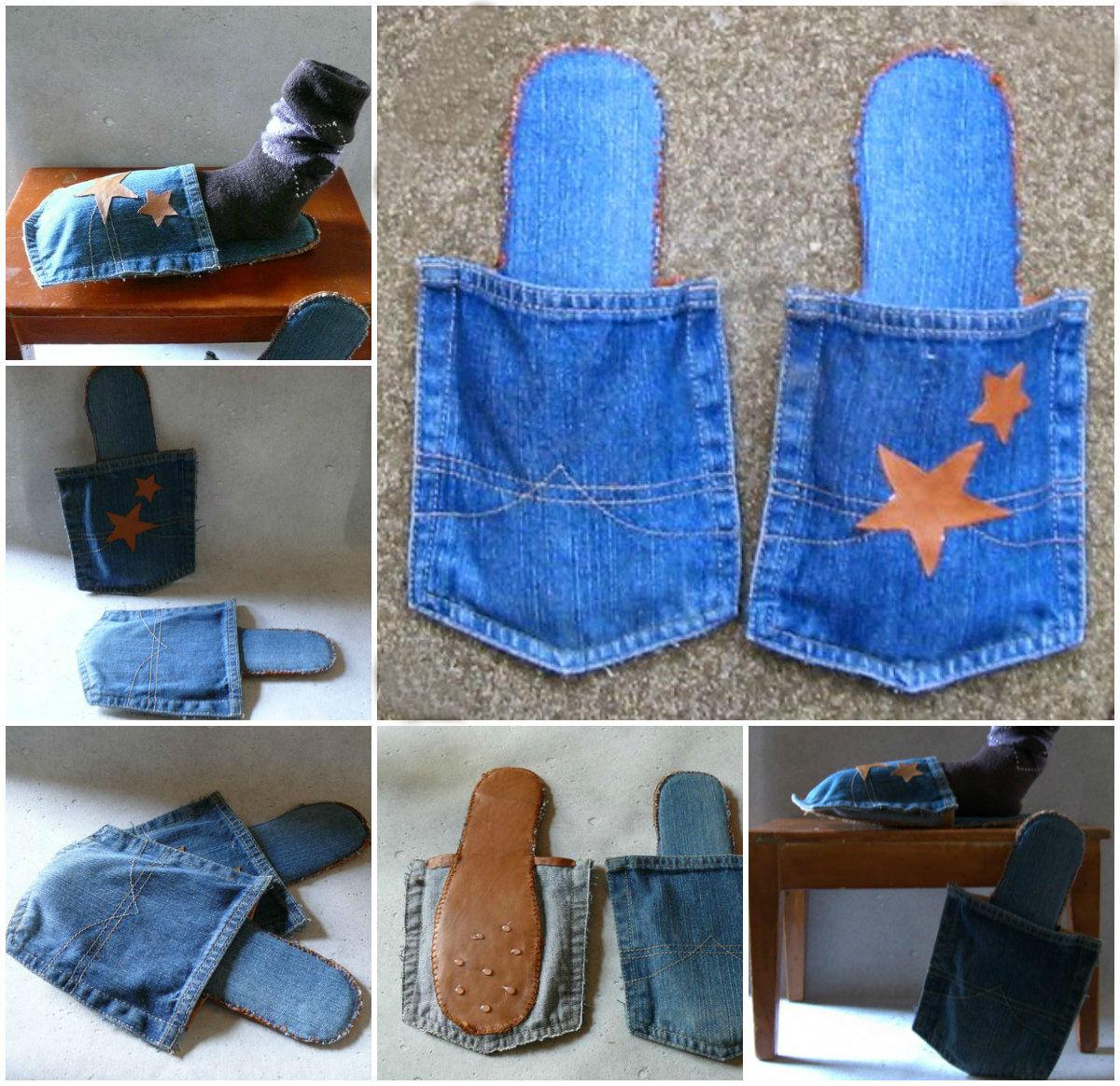gk kreativ jeans upcycling. Black Bedroom Furniture Sets. Home Design Ideas