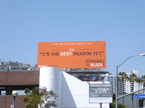 Orange New Black season 4 Emmy FYC billboard