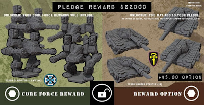 Pledge Reward $62000