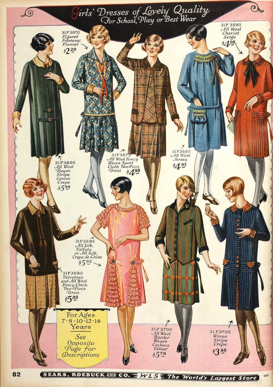 1926 Fashions IN COLOUR