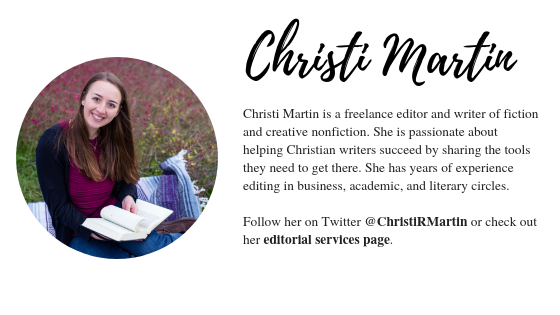 Christi Martin bio Follow on Twitter @ChristiRMartin