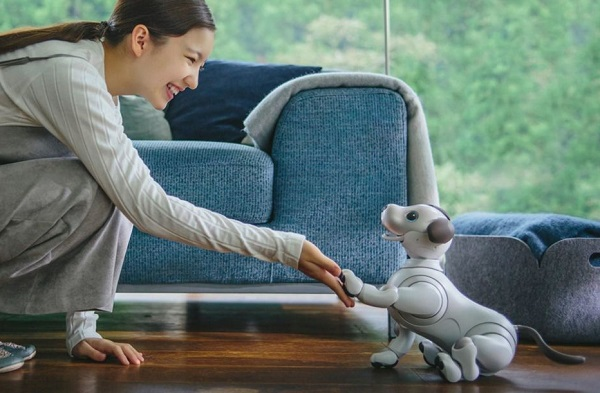 SONY announces aibo (ERS-1000) robot dog