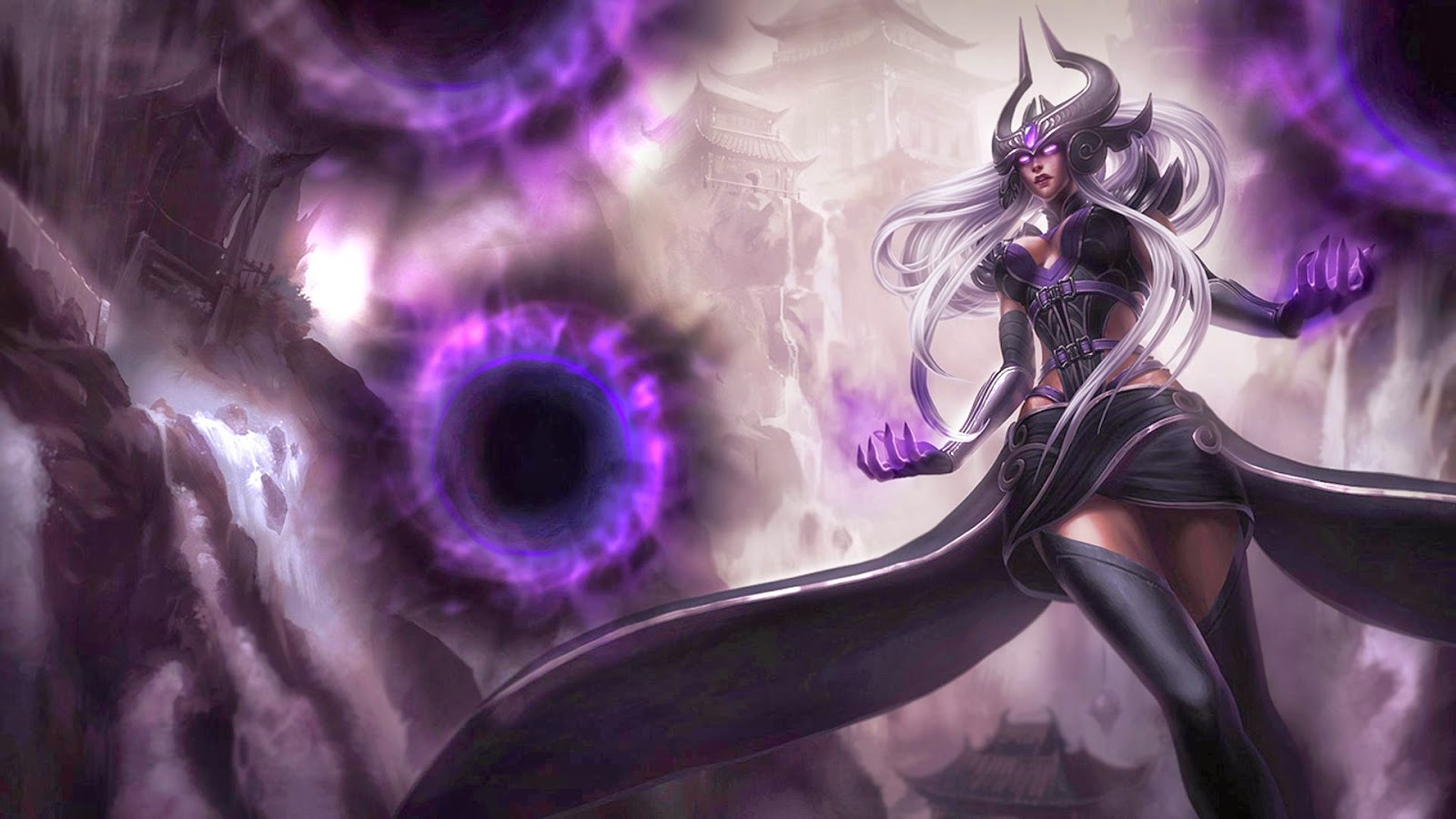 Syndra league of legends wallpaper syndra desktop wallpaper - League desktop backgrounds ...