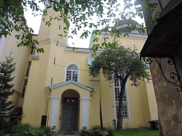Iglesia de la Transfiguración de Nuestro Señor (Issanda Muutmise Kirik) (Tallinn) (@mibaulviajero)