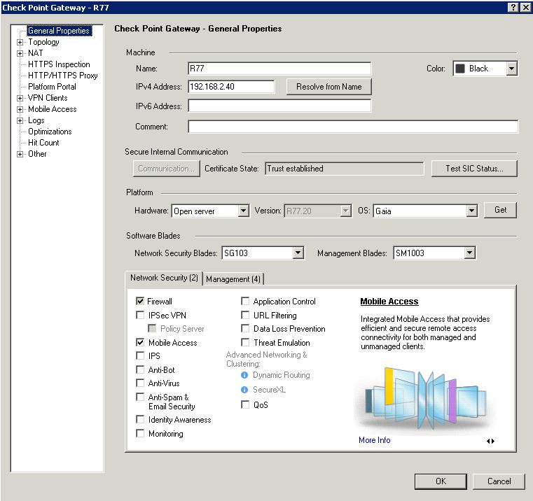 Checkpoint Ipsec Vpn Configuration Guide R77