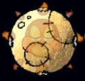 Sad Sun Paper Mario Yoshi's Island moon total solar eclipse