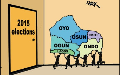 2015 ELECTIONS: Men Who'll Decide The Fate Of Contestants In South-West
