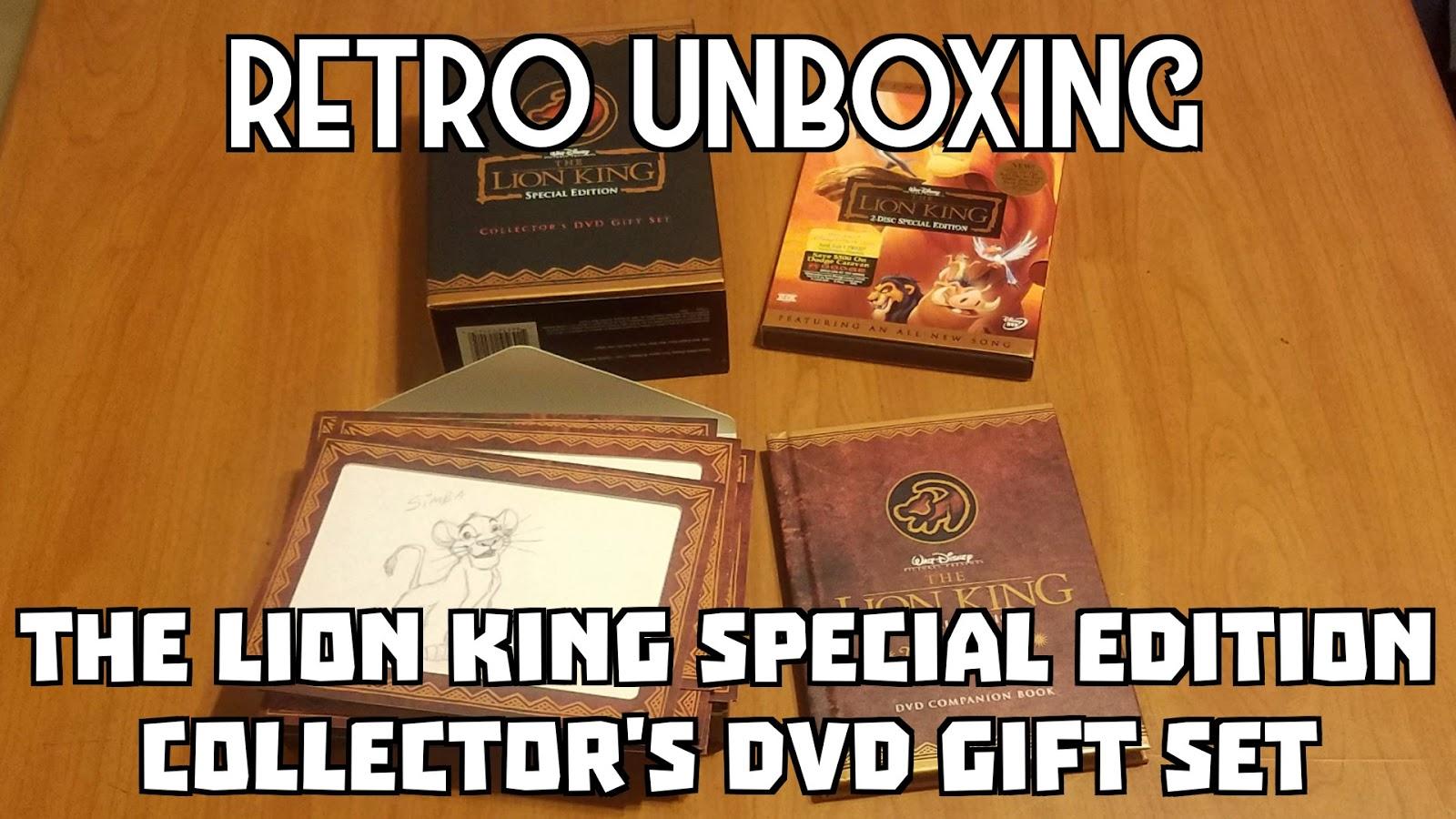 Sasaki Time Retro Unboxing The Lion King Special