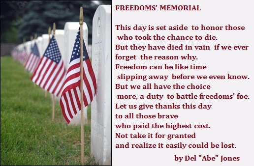 Memorial Day Poems, Poetry & Prayers For Veterans