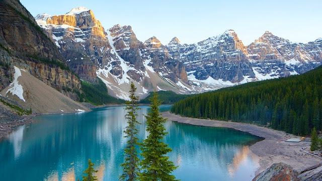Vale dos Dez Picos no Canadá