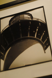 lighthouse framed photo
