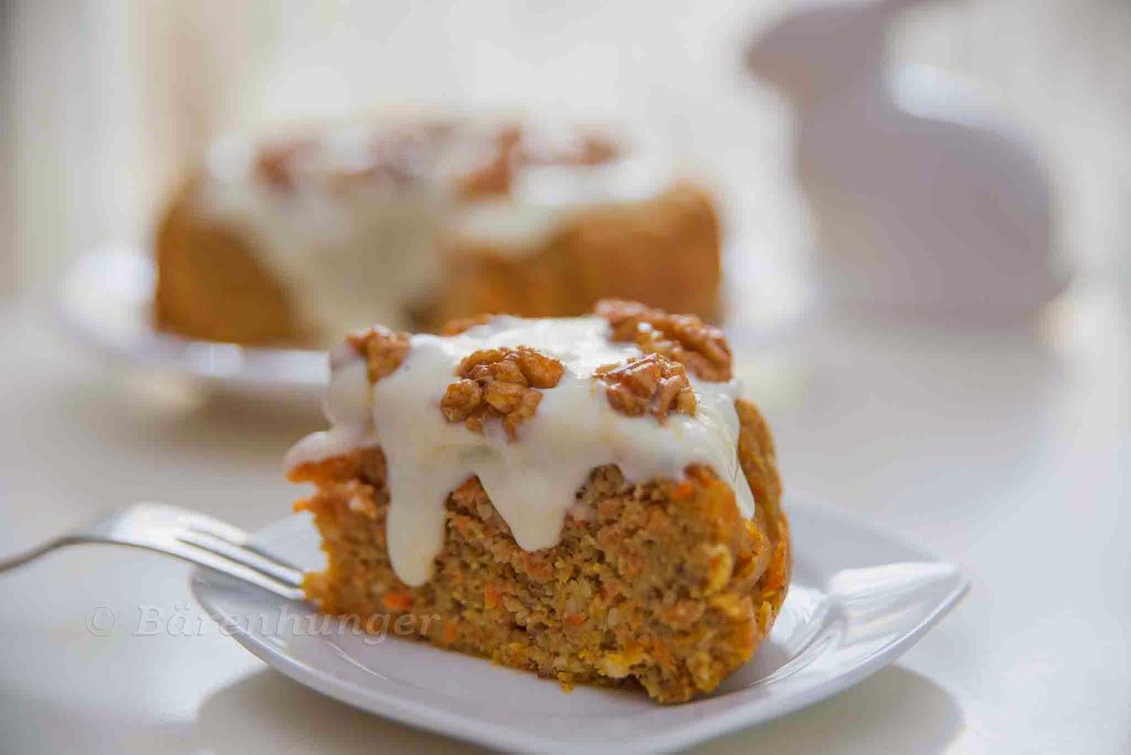 Karotten Walnuss Kuchen Barenhunger