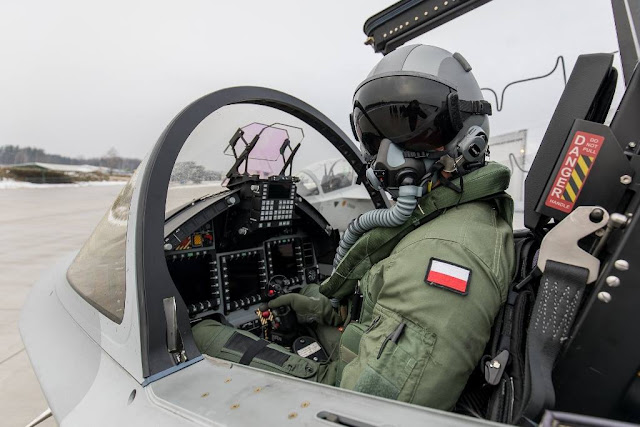Poland pilot training m-346 bielik