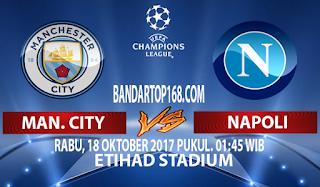Prediksi Manchester City vs Napoli 18 Oktober 2017