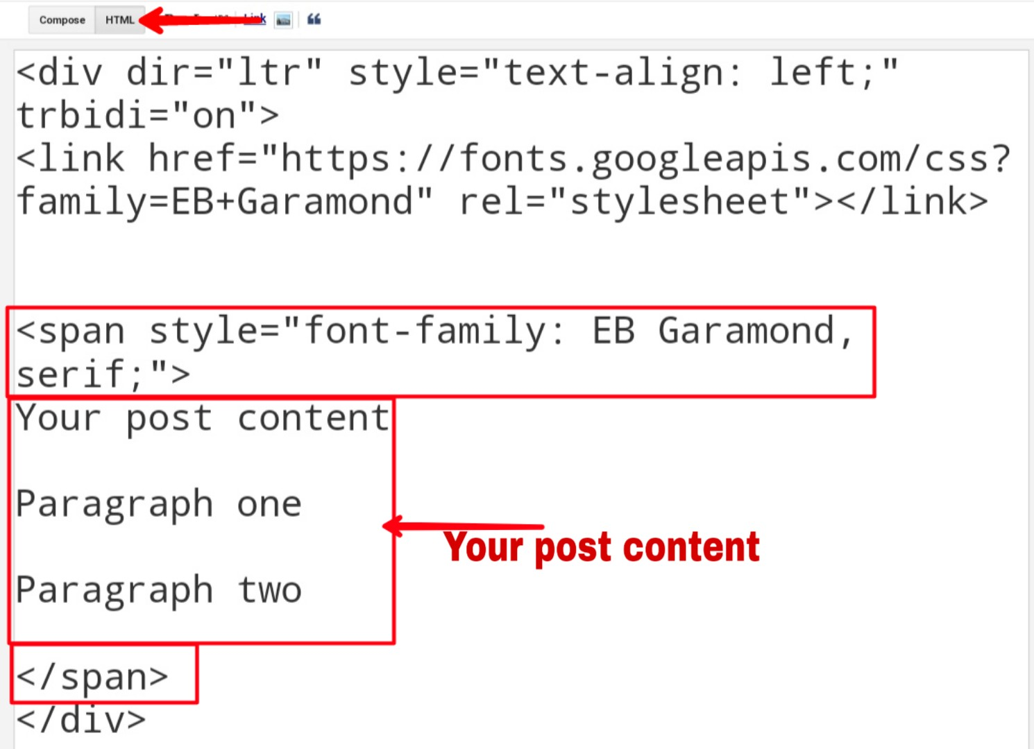 How To Use/Add Custom Fonts In Blogger - TheStep4U
