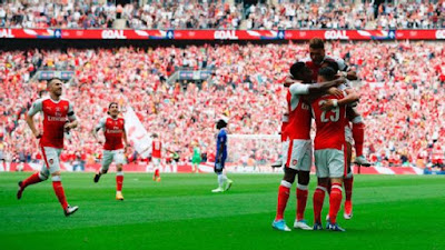 Arsenal FA Cup win
