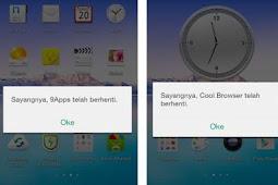 Cara Mengatasi Sayangnya Aplikasi Telah Berhenti OPPO Sartphone
