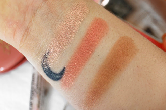 Review and swatches of the Too Faced Sweet Peach Glow Palette, Sweet Peach Collection, SophiaLCSMakeup