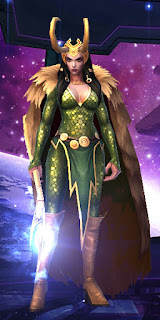 Custom Lady Loki