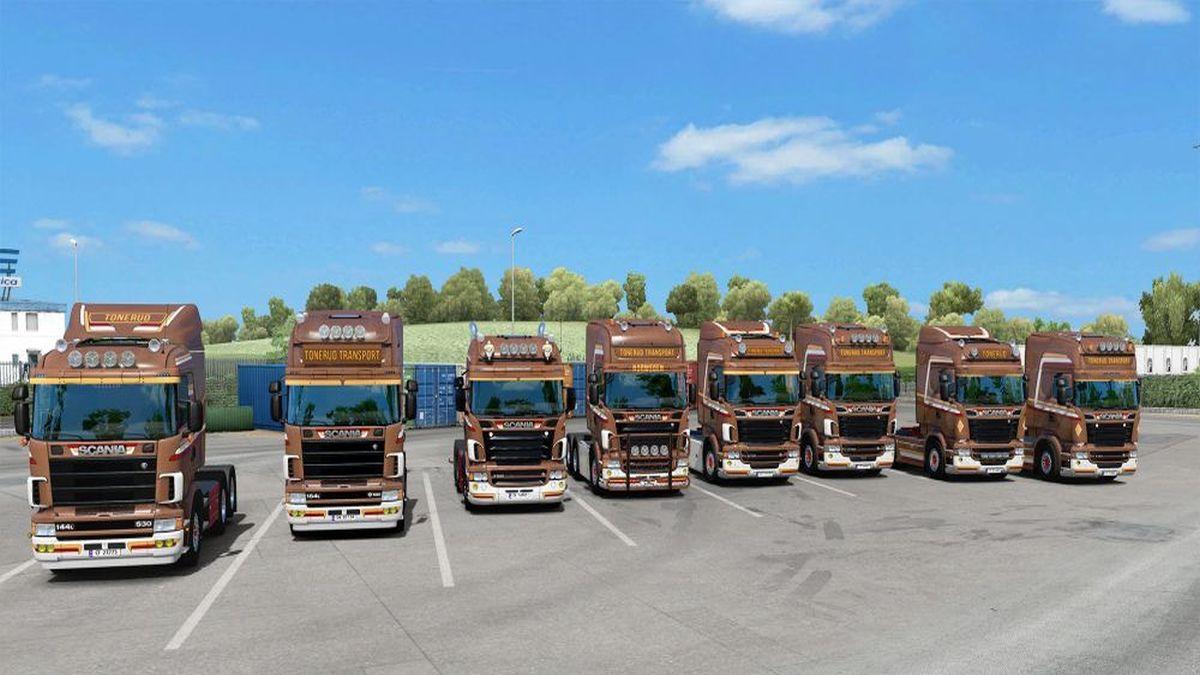 Tonerud Skin Pack for Scania RJL
