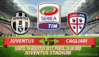 Prediksi Juventus vs Cagliari 19 Agustus 2017