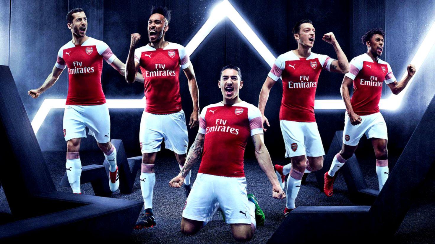 084c25c95a5 Arsenal FC 201819 PUMA Home Kit – FOOTBALL