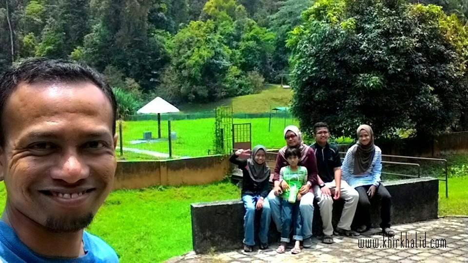 Selfie di Taman Botani Negara