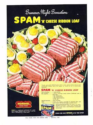 Spam 'N' Cheese Ribbon Loaf