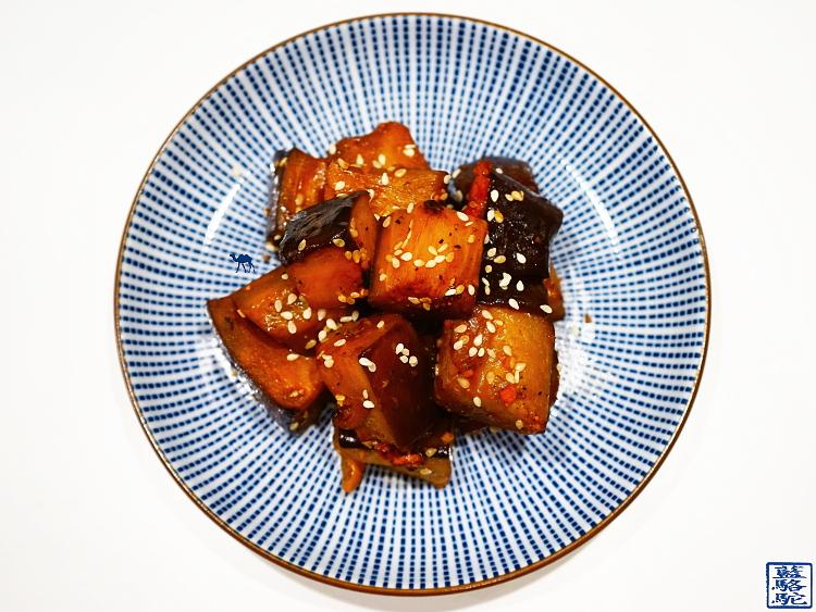 Le Chameau Bleu - Blog de Cuisine et Voyage - Recette Poelée d'Aubergines à la japonaise