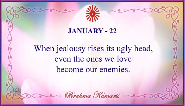 Thought For The Day January 22