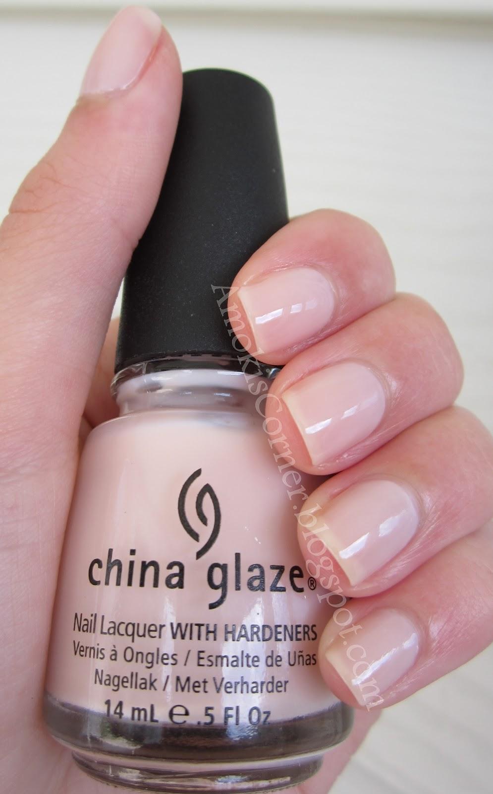 China Glaze Presenta Crakle Glaze: Amoki's Corner: CHINA GLAZE Innocence