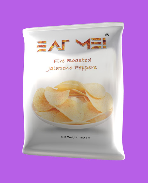 Potato Chips Packaging Mock-up