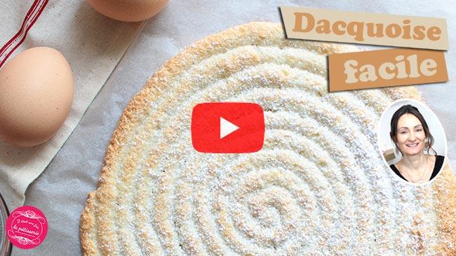 vidéo de la dacquoise